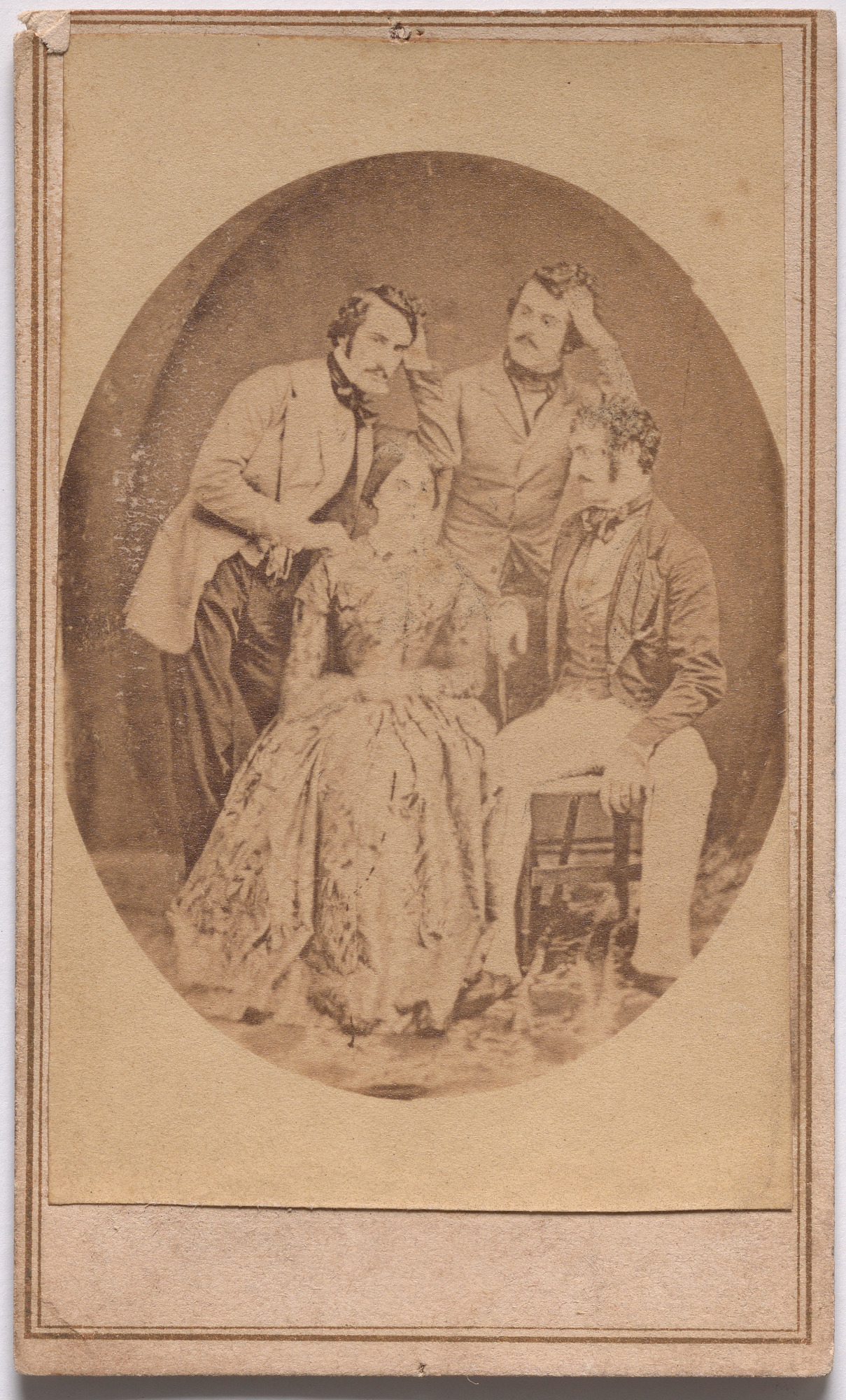 Charles and Henry Meade, Susan and Lester Wallack