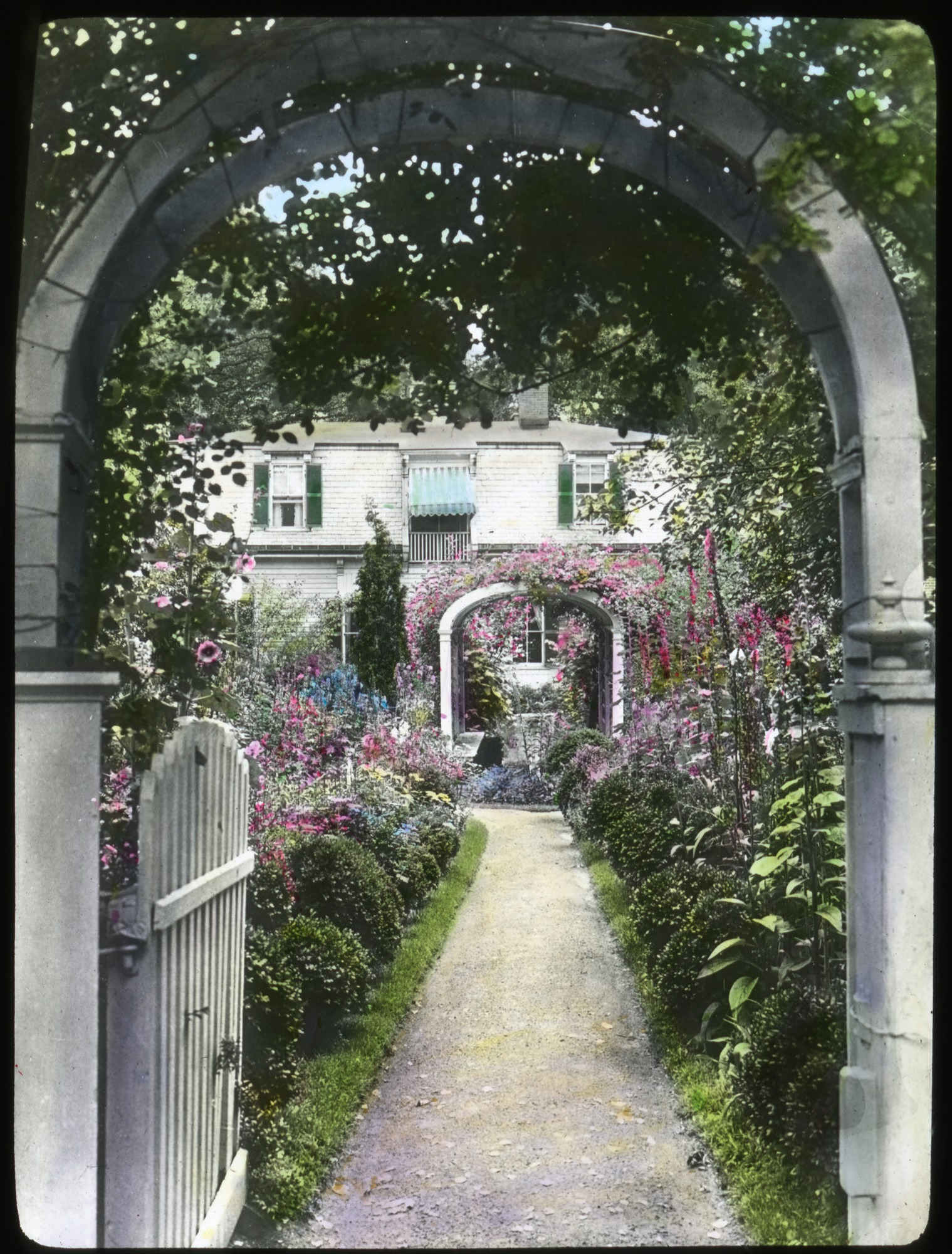 Laight Garden, Salem, Massachusetts, 1920s