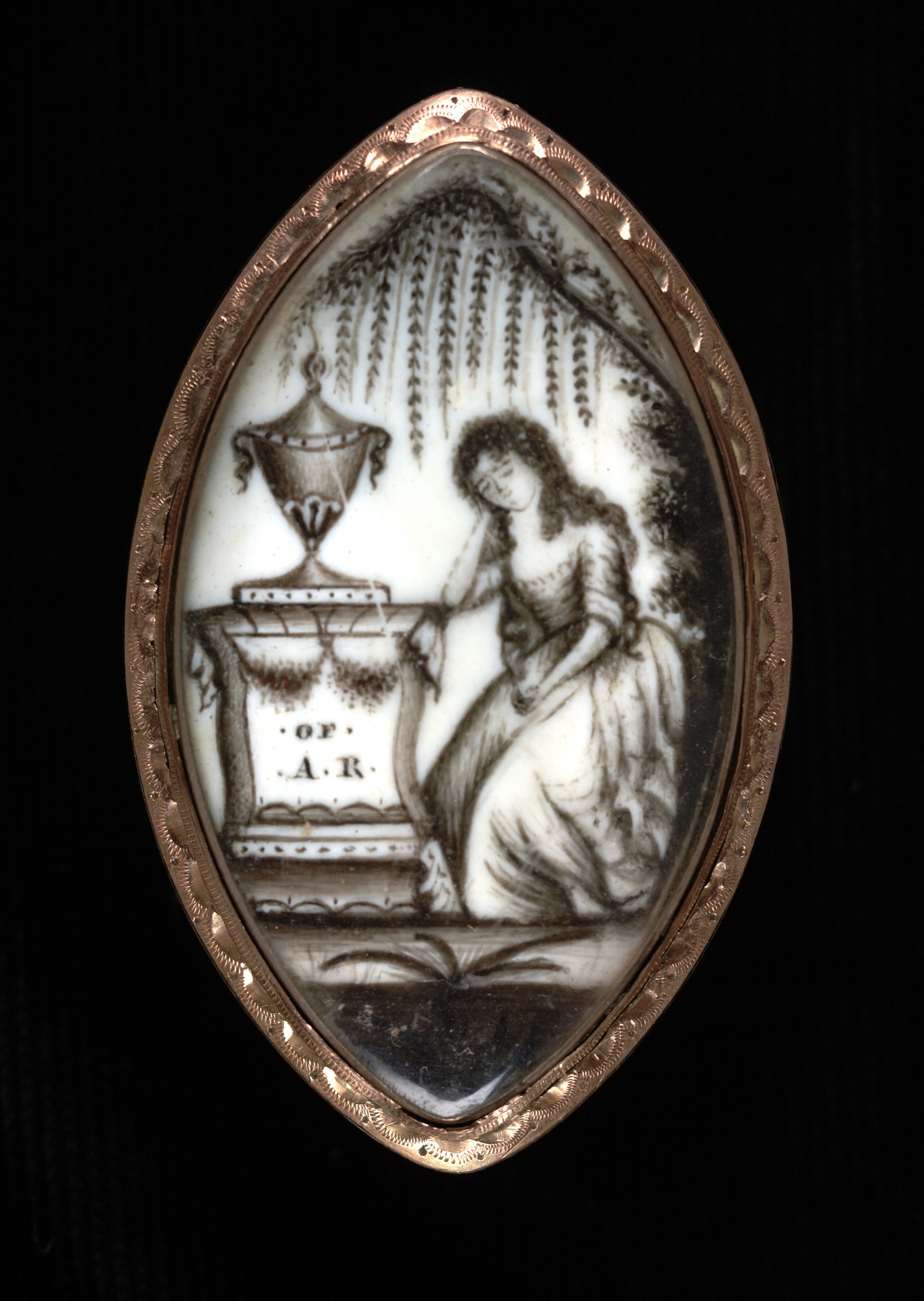 Mourning Locket for A. R.