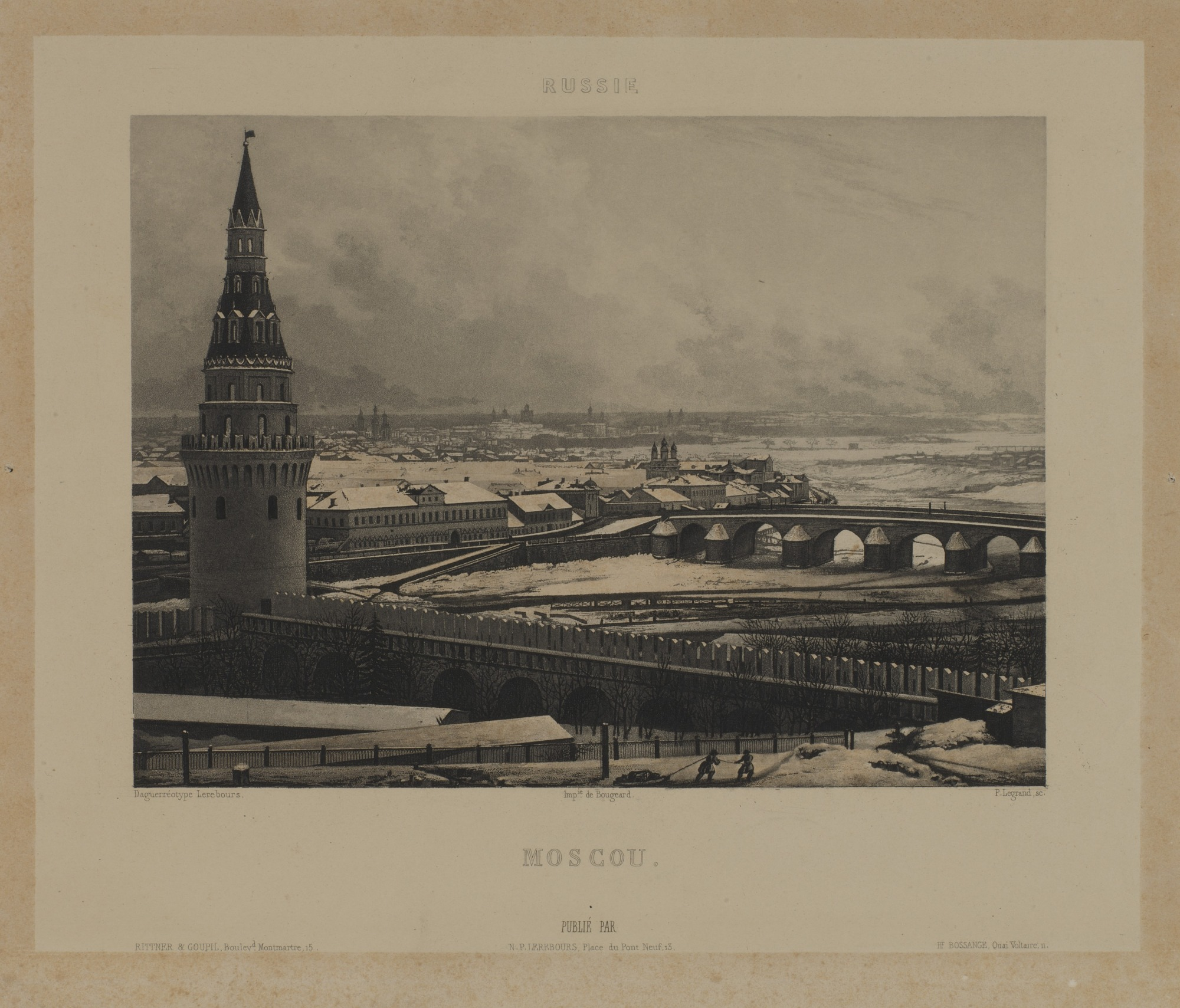 Moscou (after a daguerreotype)