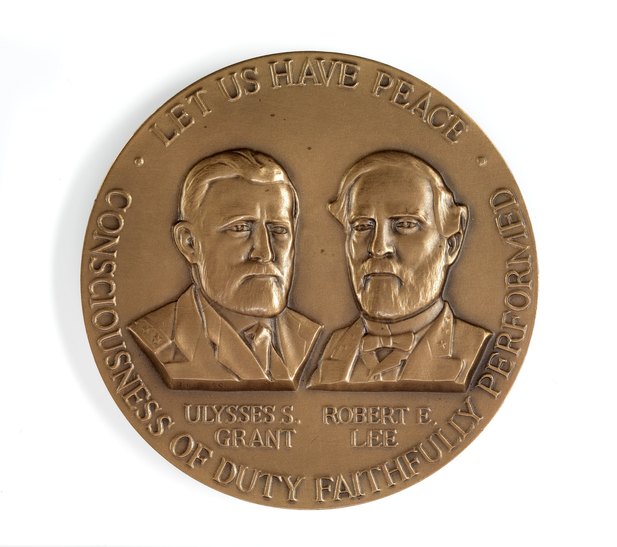 Civil War Centennial Award Medal