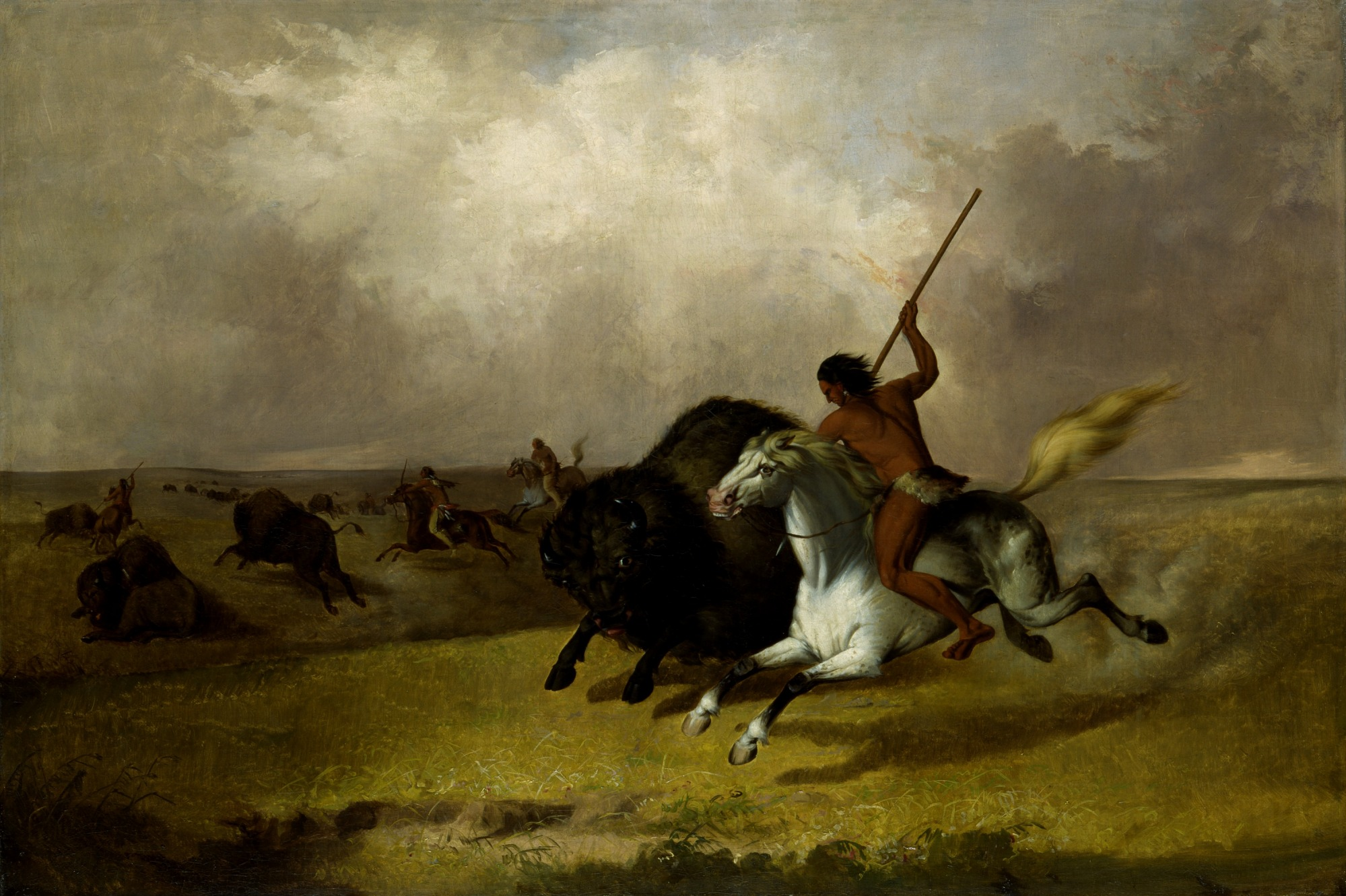 Buffalo Hunt on the Southwestern Prairies