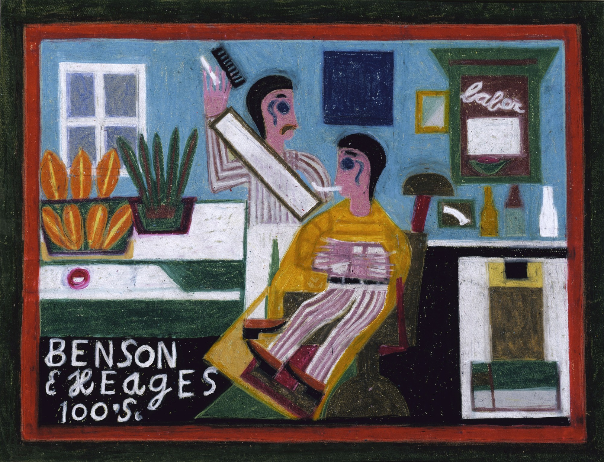 Benson and Hedges in a Barbershop
