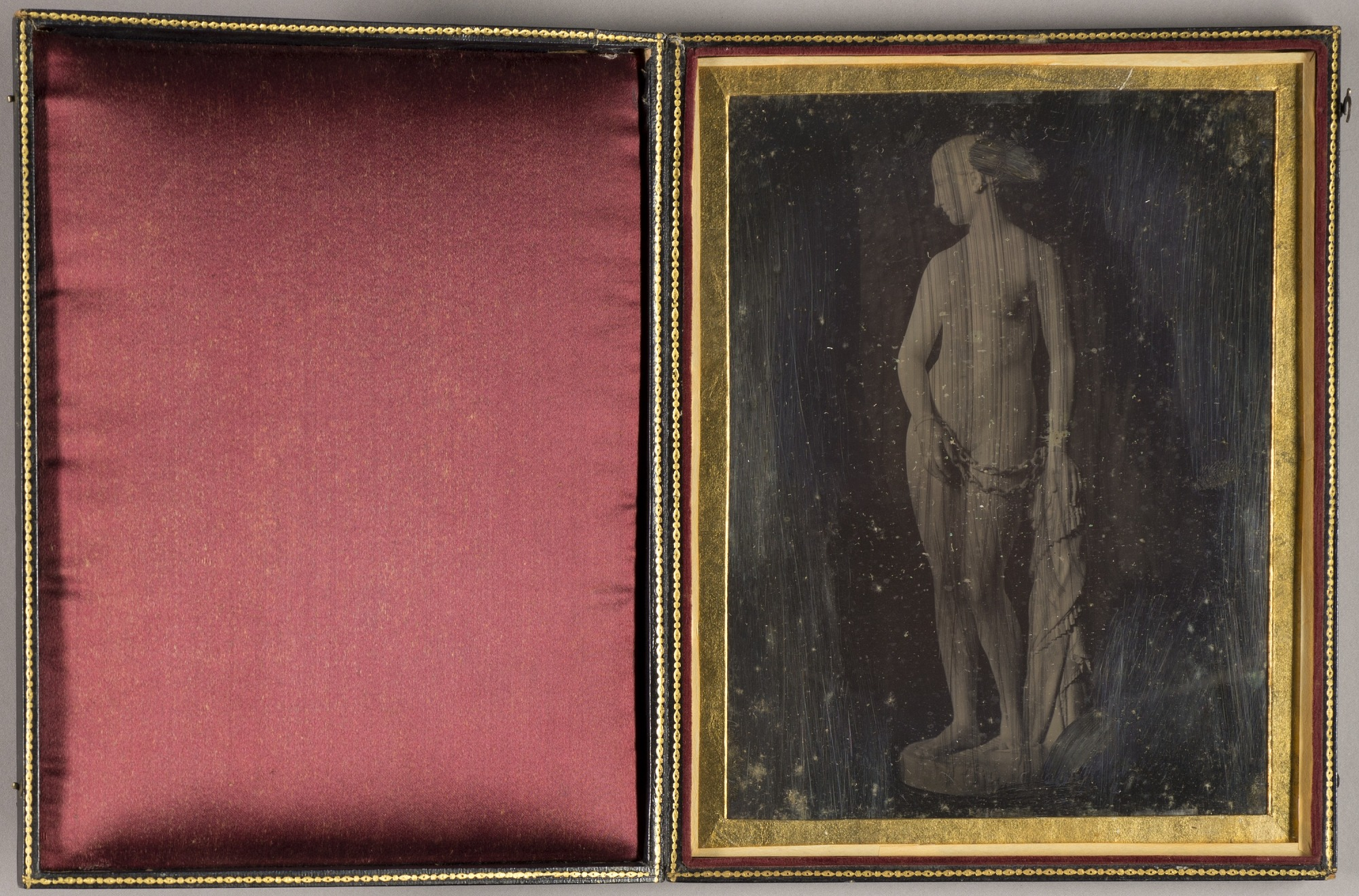 The Greek Slave--Daguerreotype