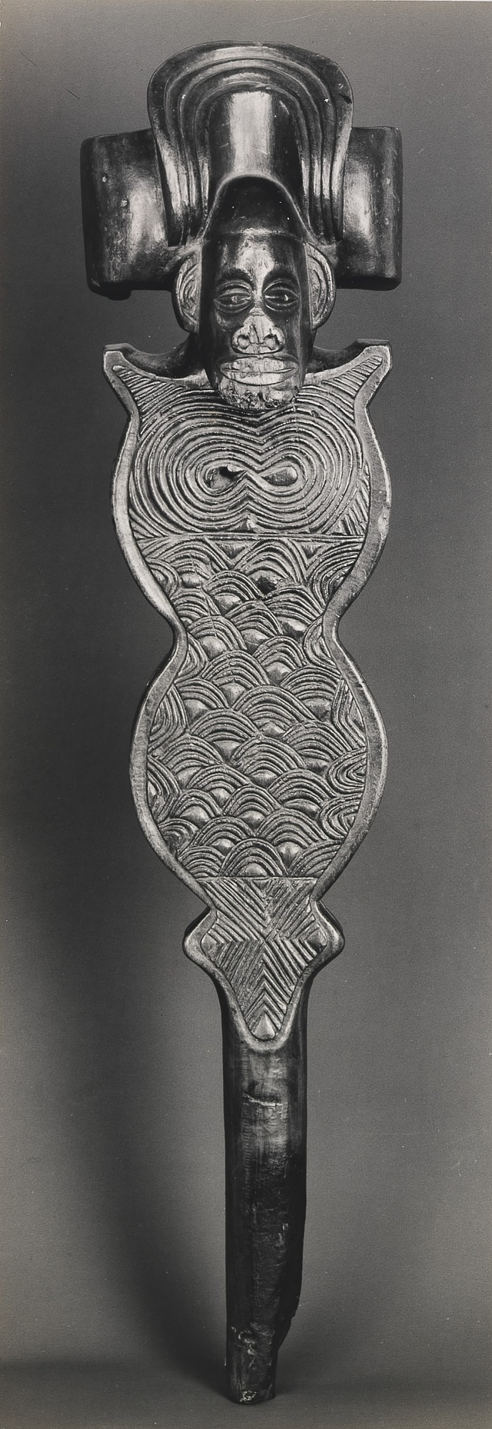 Sceptre. Wood. Bachokwe, Angola, from the series African Sculpture