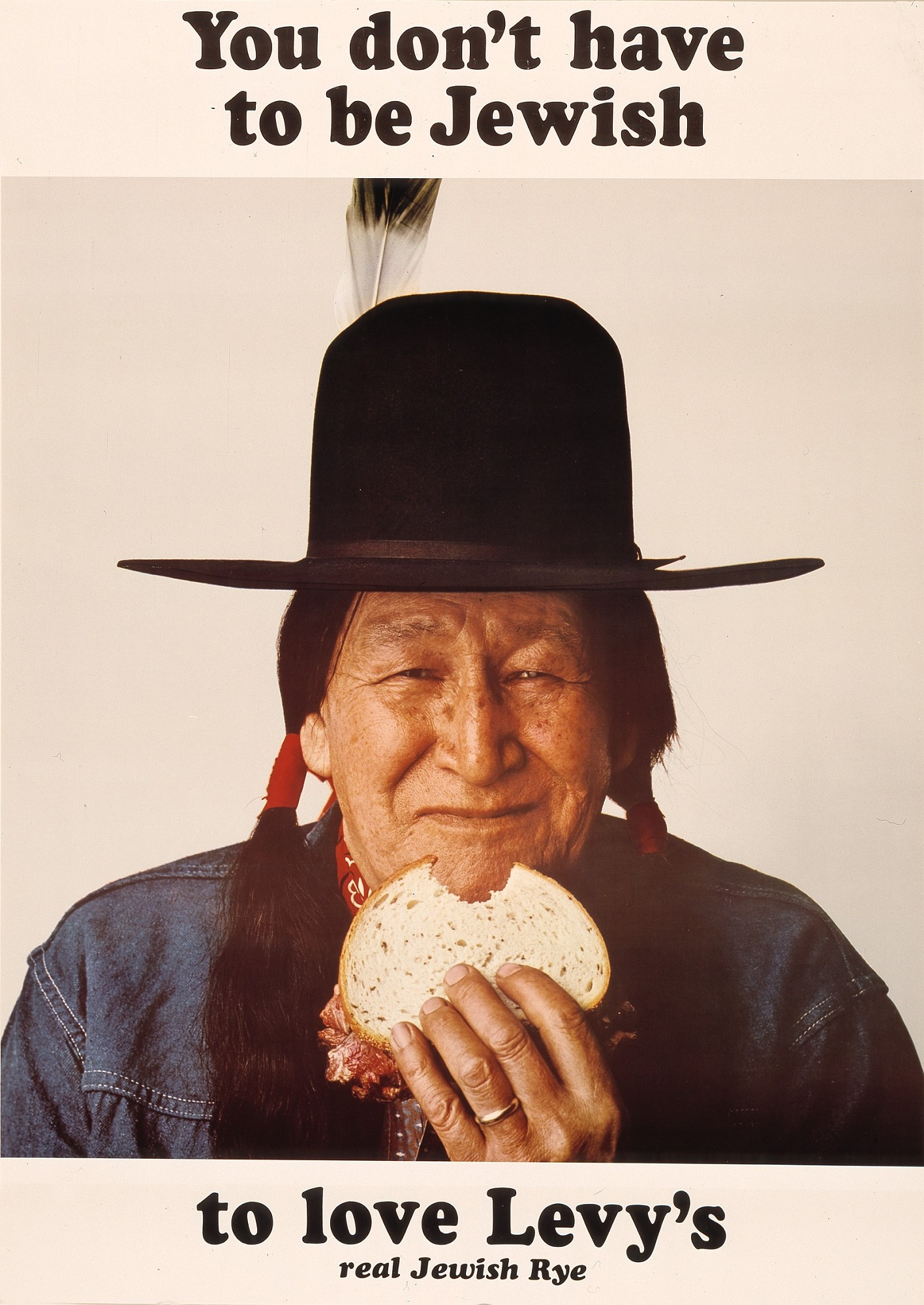 View (Native American), from the series You Don't Have to be Jewish to Love Levy's digital asset number 1
