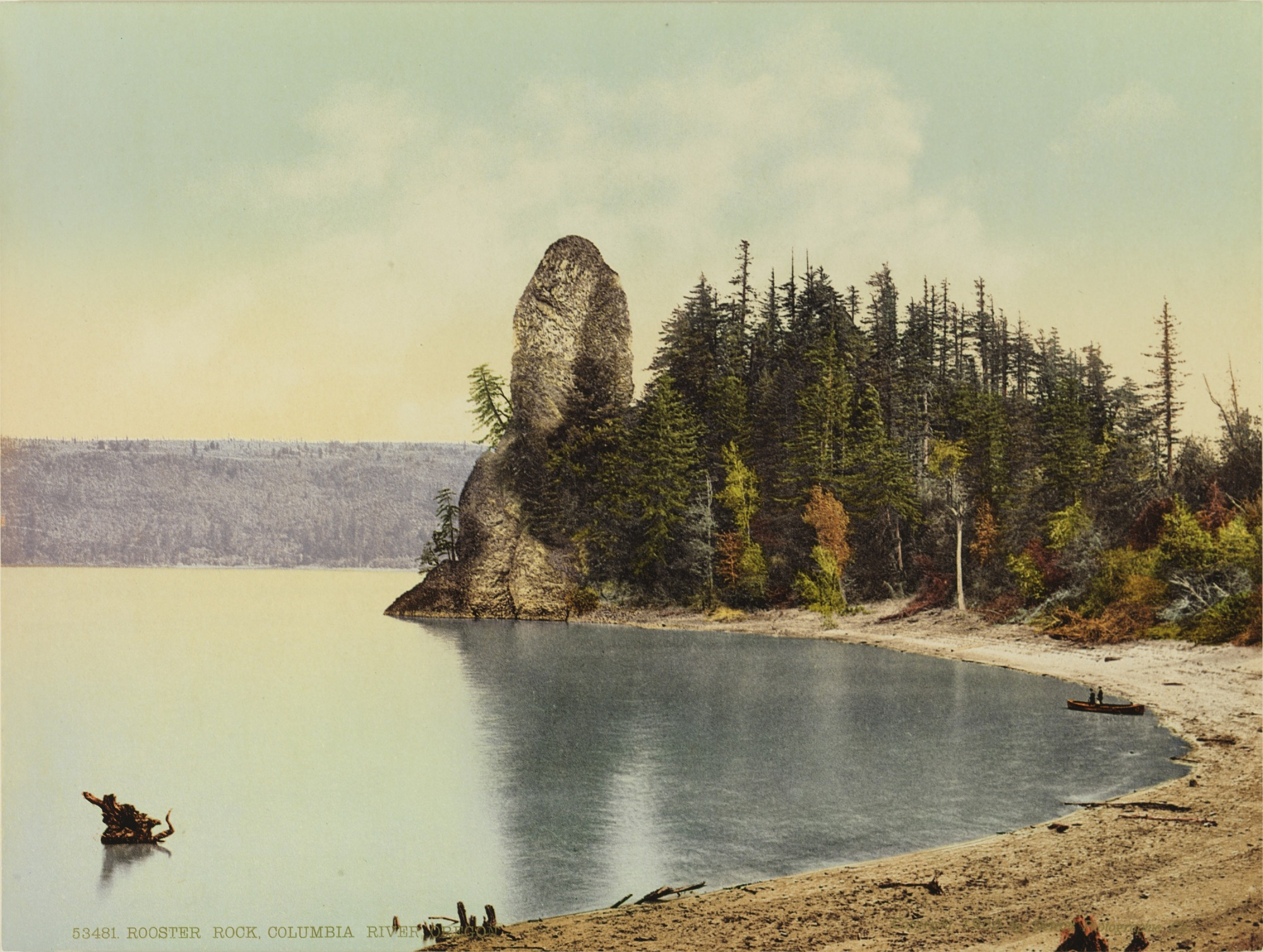 Rooster Rock, Columbia River, Oregon