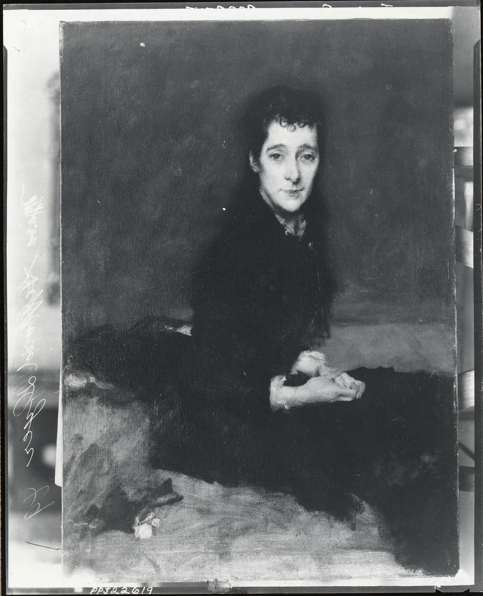 Mrs. Charles Gifford Dyer [painting] / (photographed by Peter A. Juley & Son)