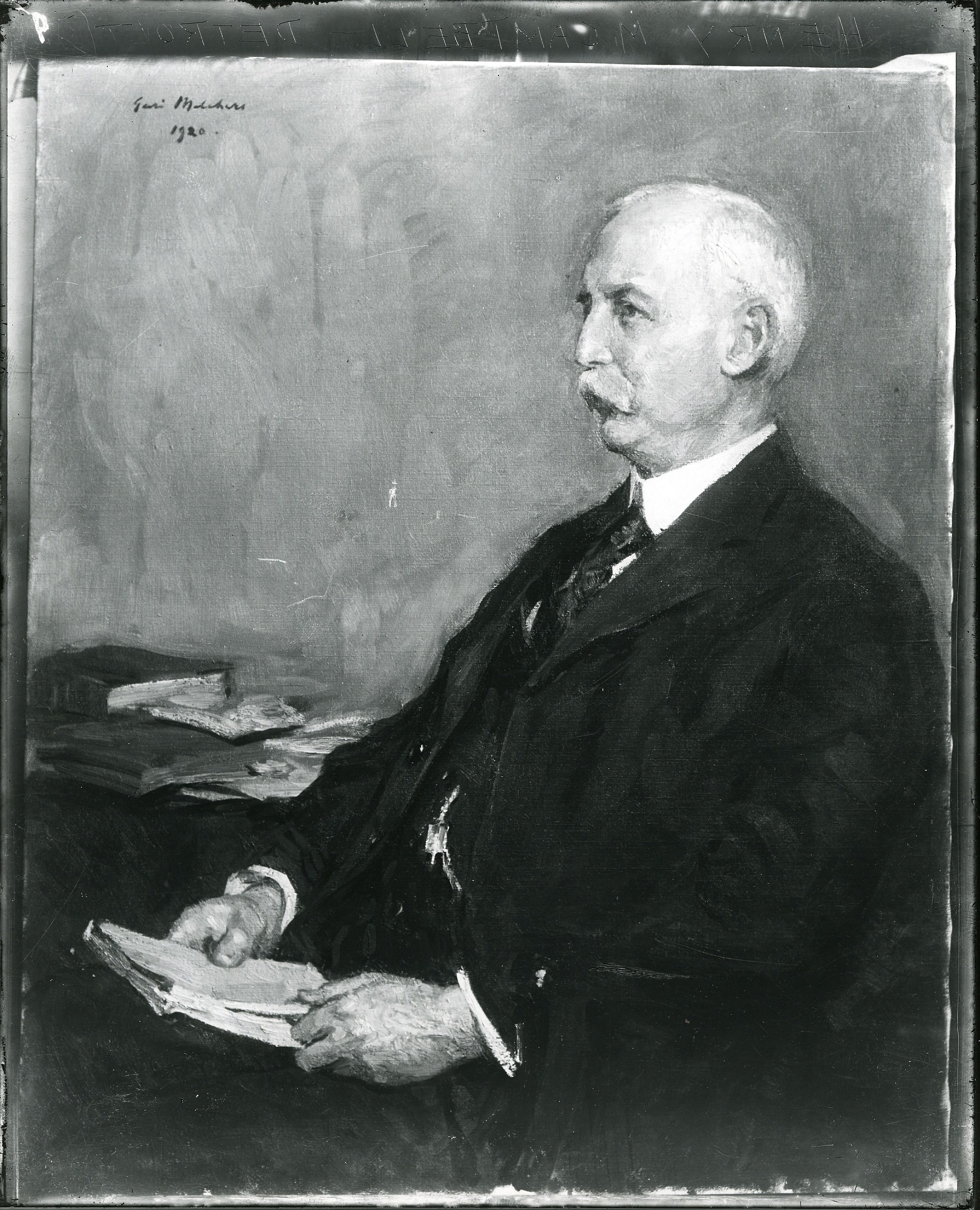 Henry M. Campbell painting / (photographed by Peter A. Juley & Son)