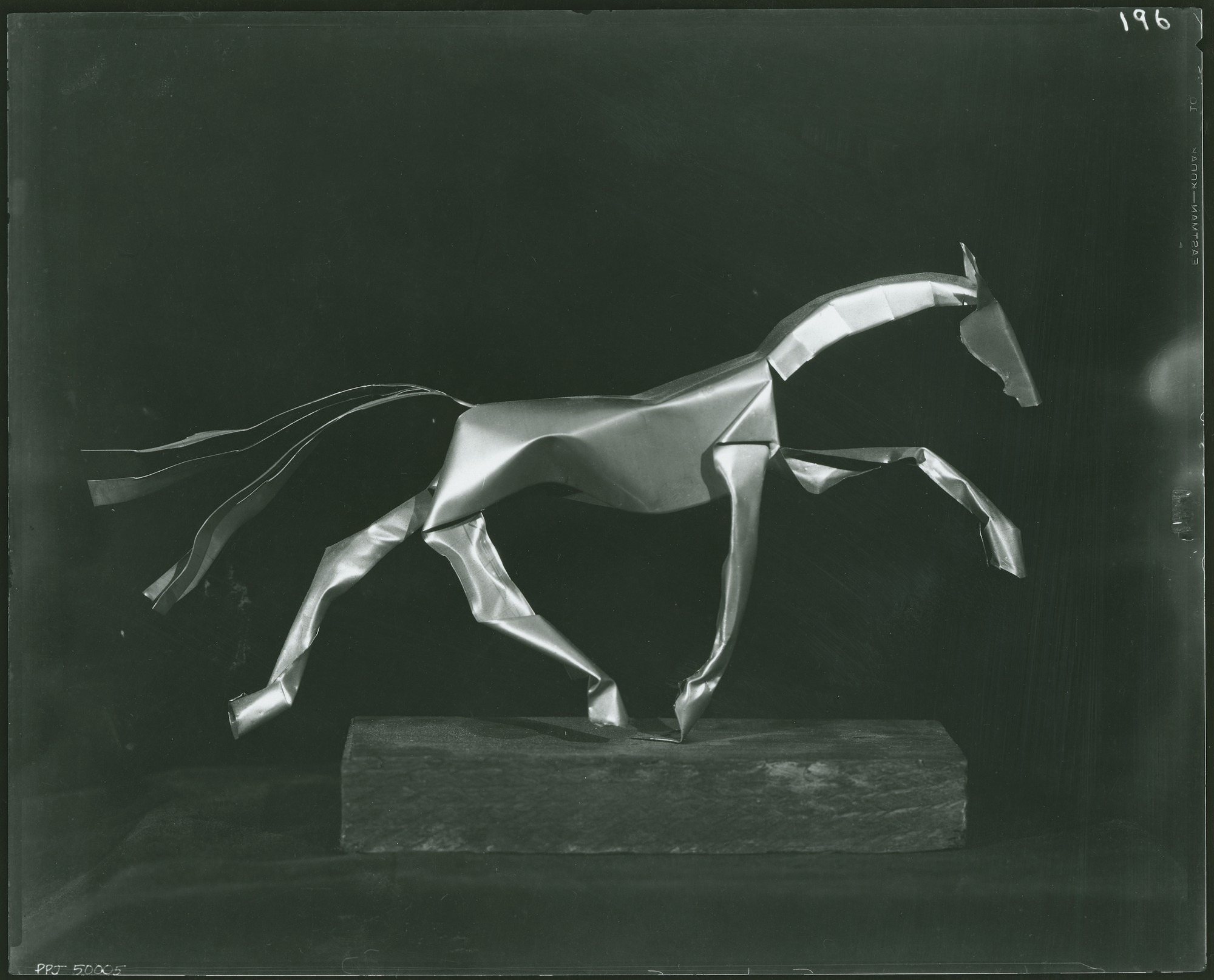 Horse sculpture / (photographed by Peter A. Juley & Son)