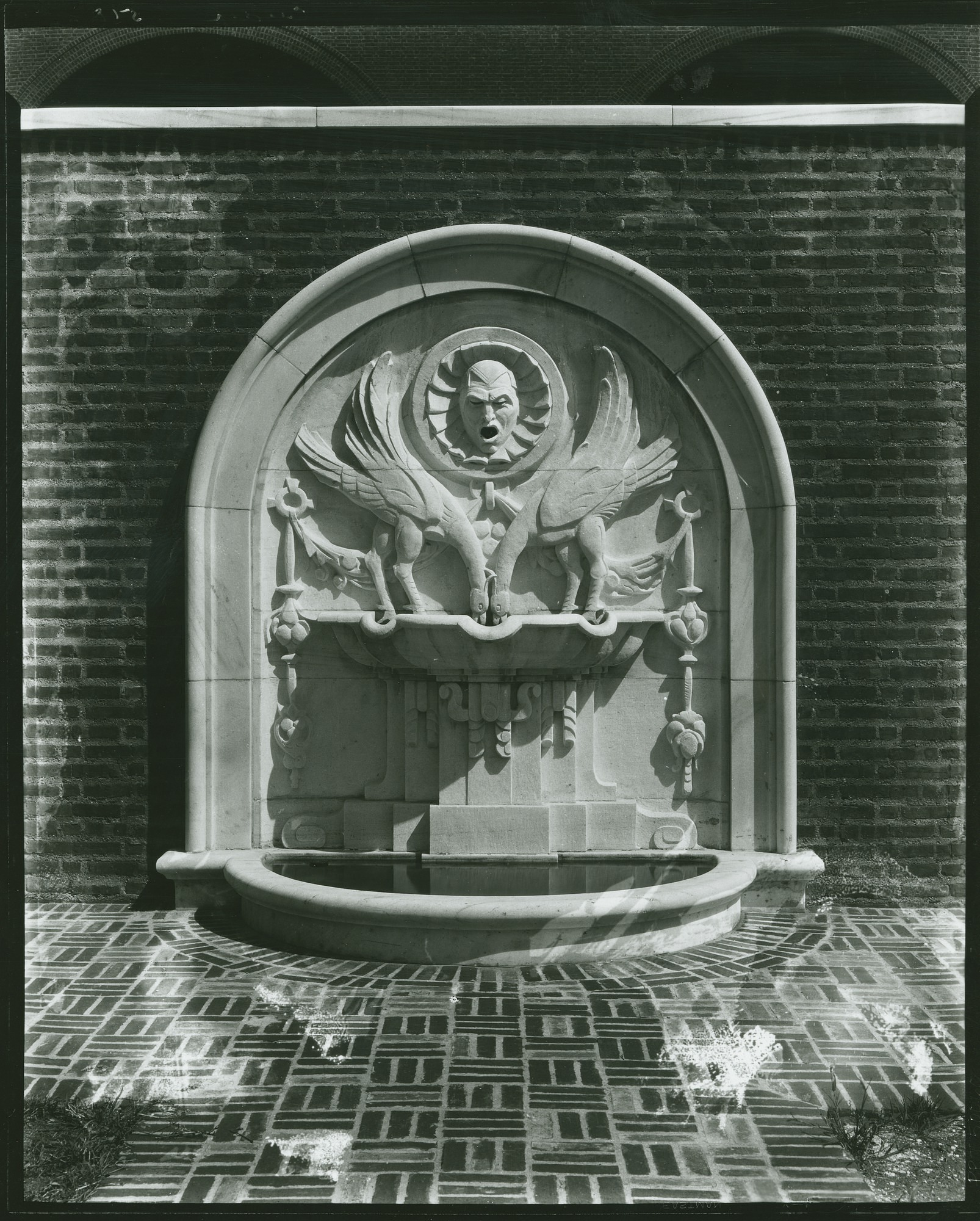 Fountain sculpture / (photographed by Peter A. Juley & Son)