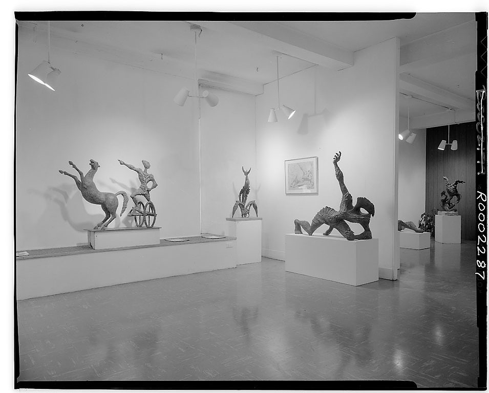 Installation view at The Contemporaries, New York