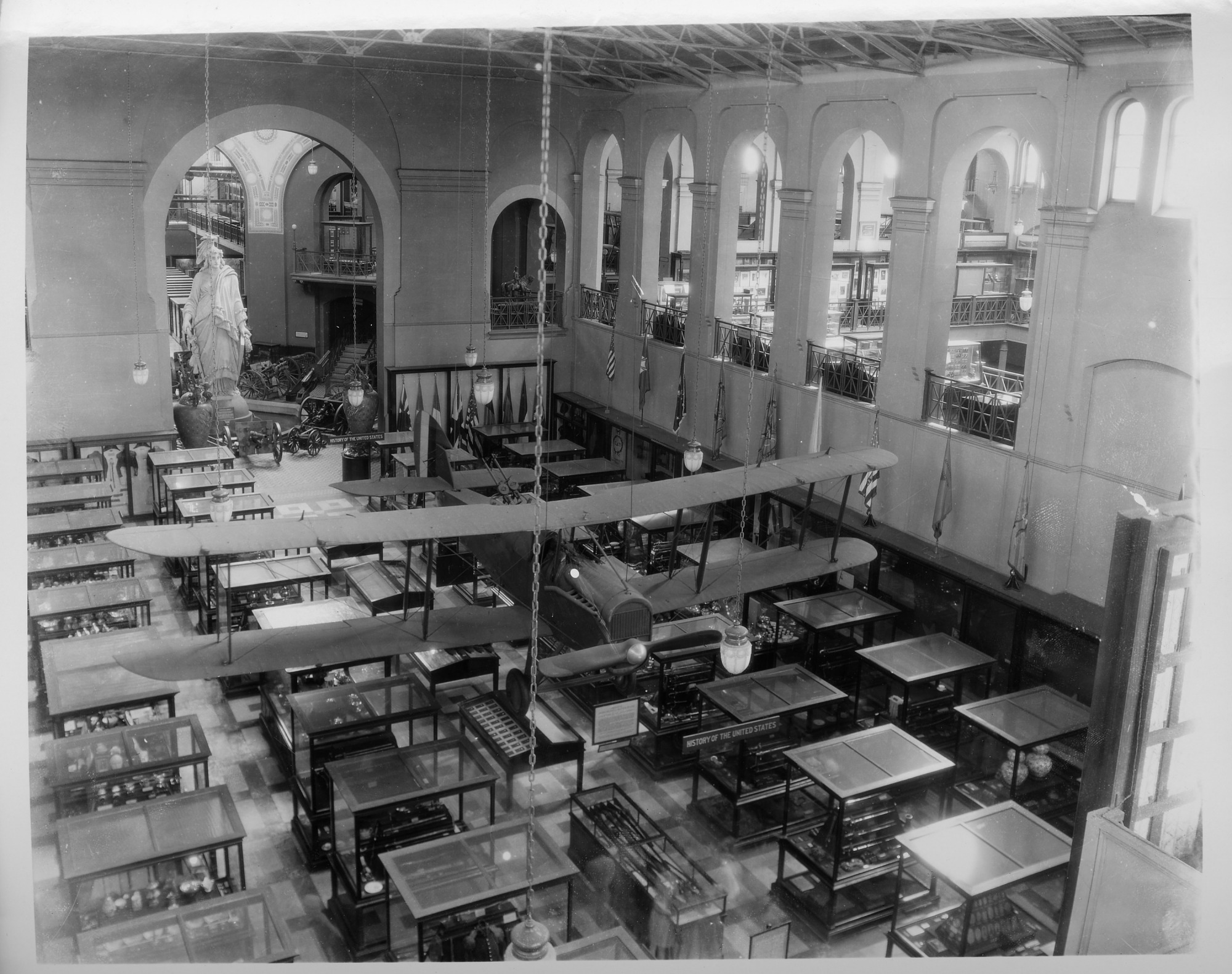 Preview of De Havilland DH-4 in North Hall of A&I Building