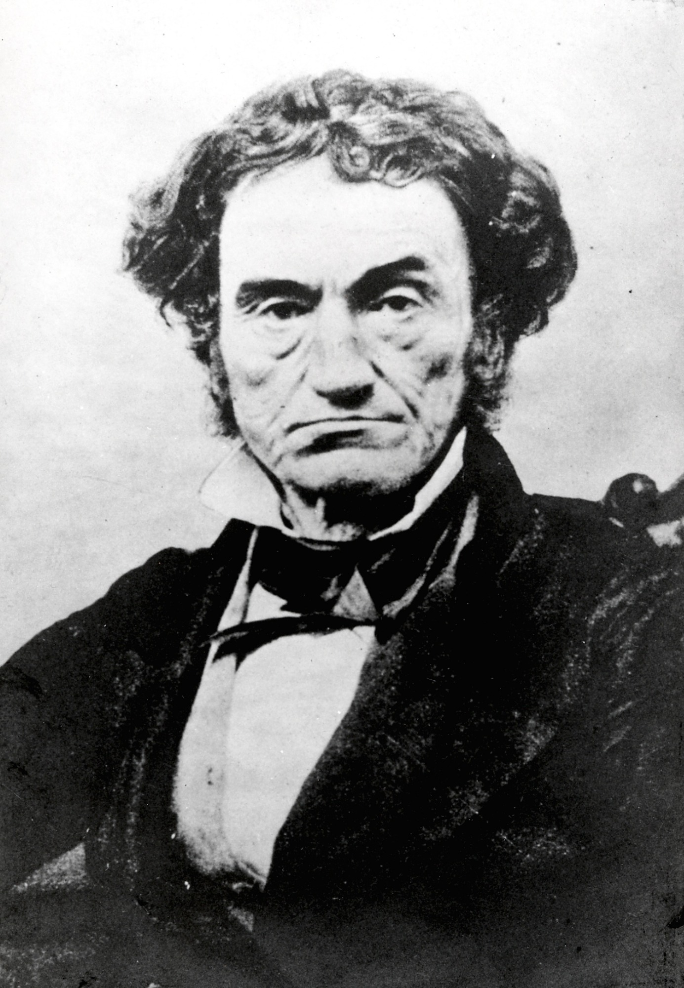 Image of Rufus Choate, c. 1845. Smithsonian Institution Archives, negative number 2002-32231.
