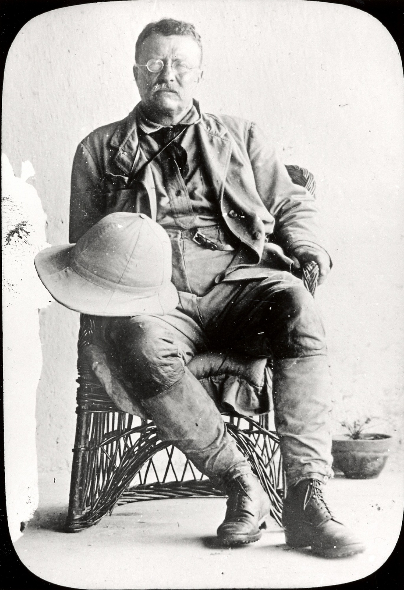 Theodore Roosevelt, by Unknown, c. early 1900s, Smithsonian Archives - History Div, 2002-32244.