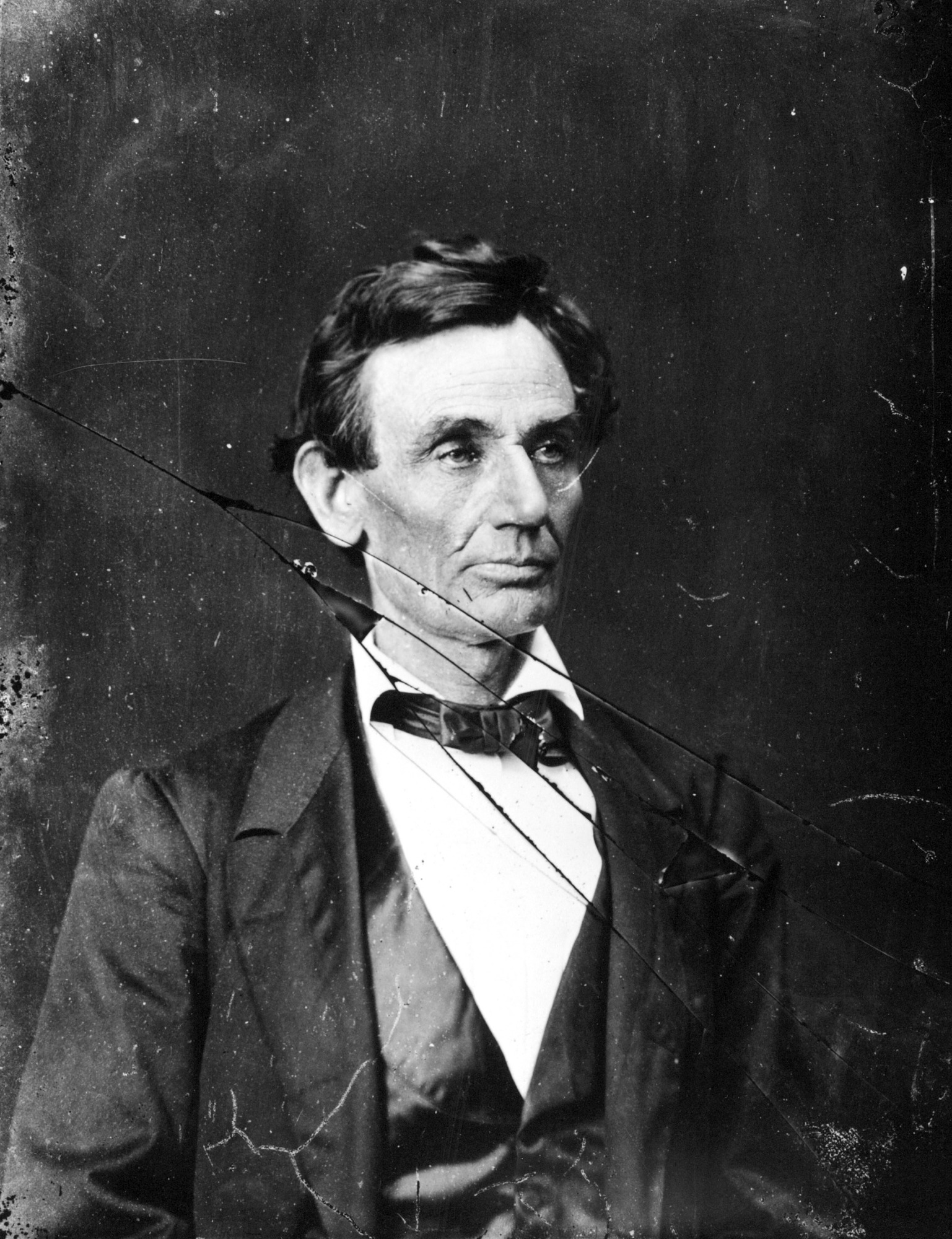 Abraham Lincoln, by Hesler, Alex, 1860, Smithsonian Archives - History Div, 2002-32257.