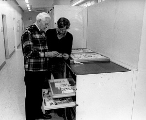 Image of Alexander Wetmore and Storrs L. Olson, 1976