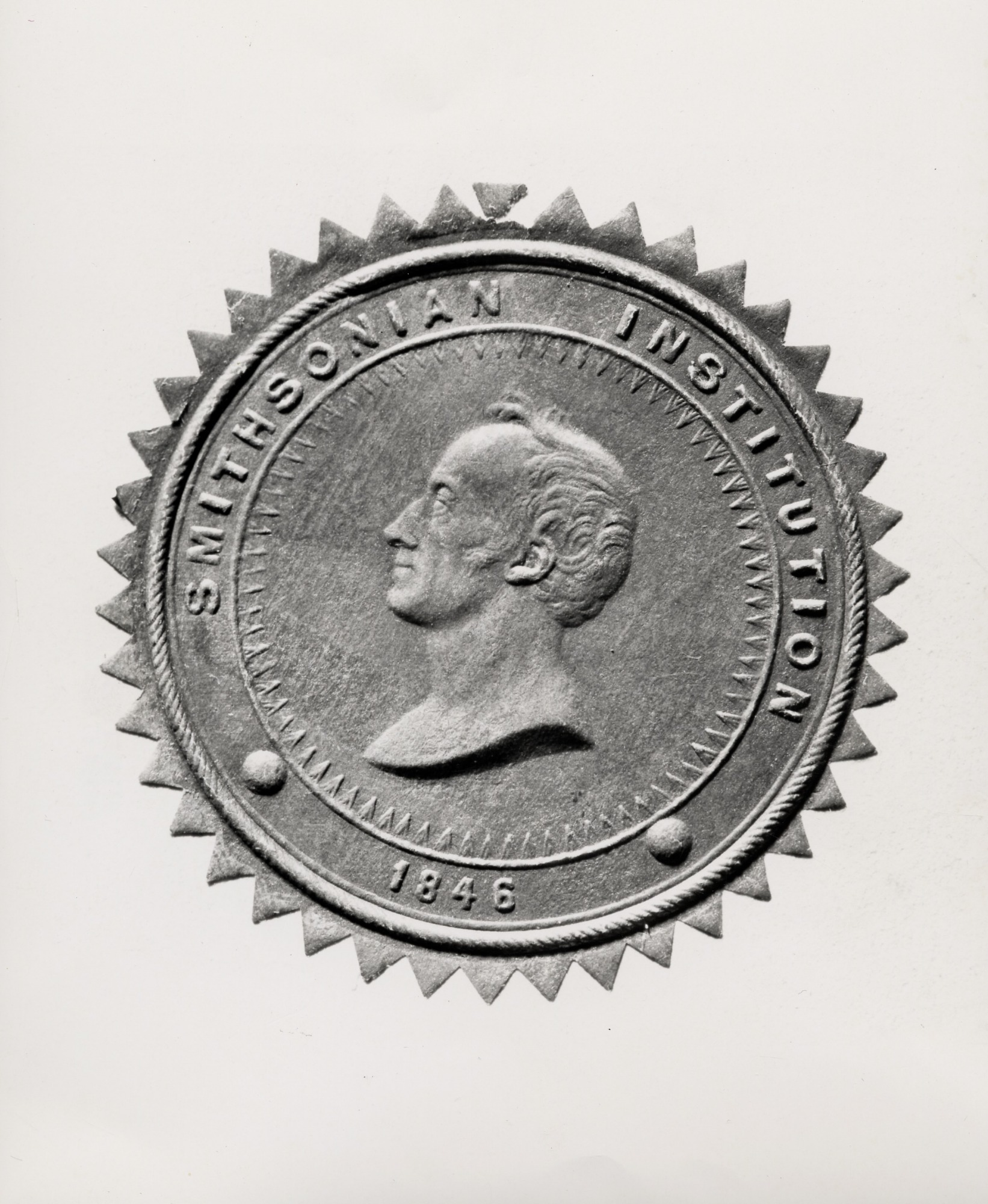 First Smithsonian Seal