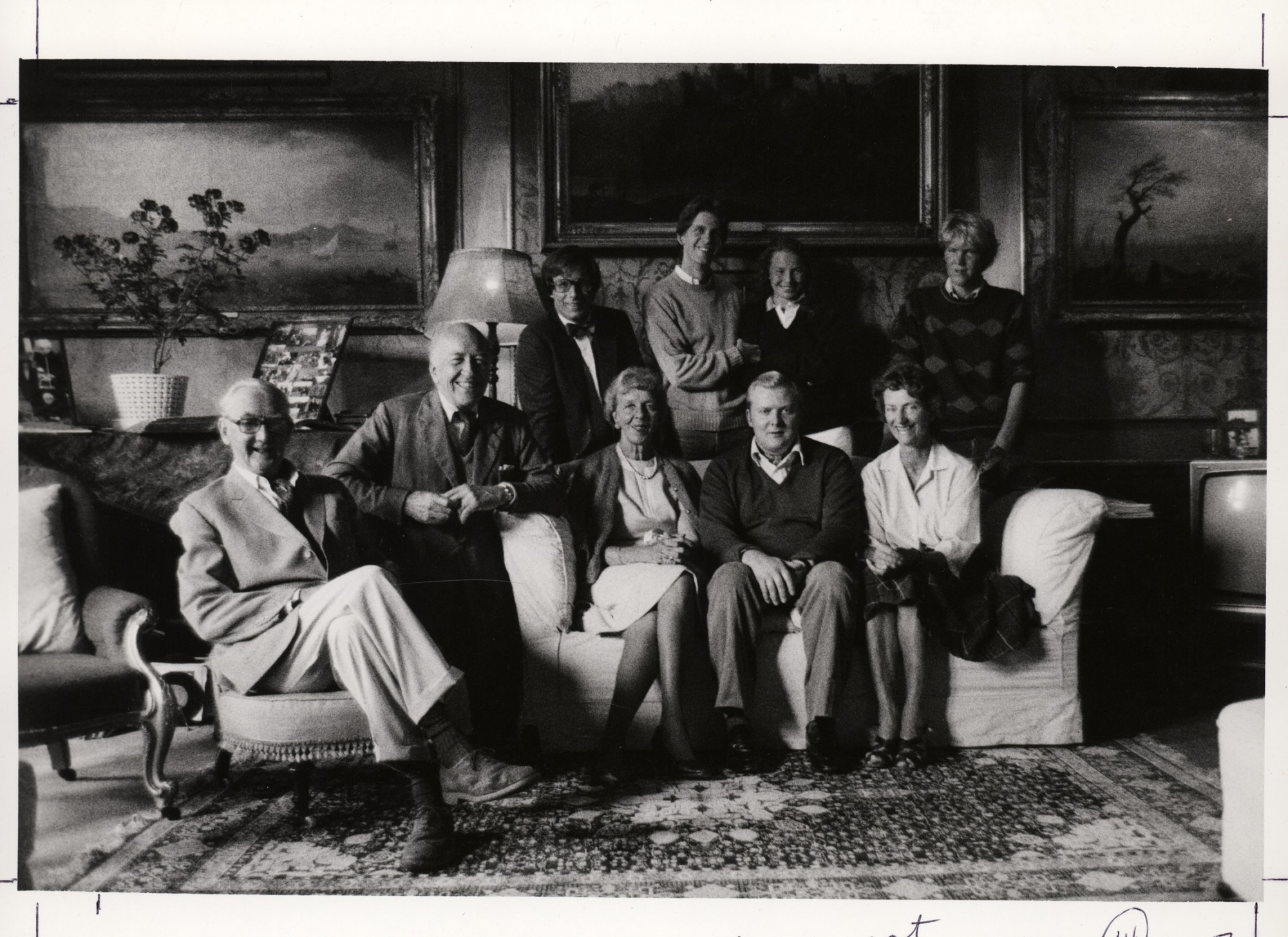 Ripley Family with Percy Family at Alnwick Castle