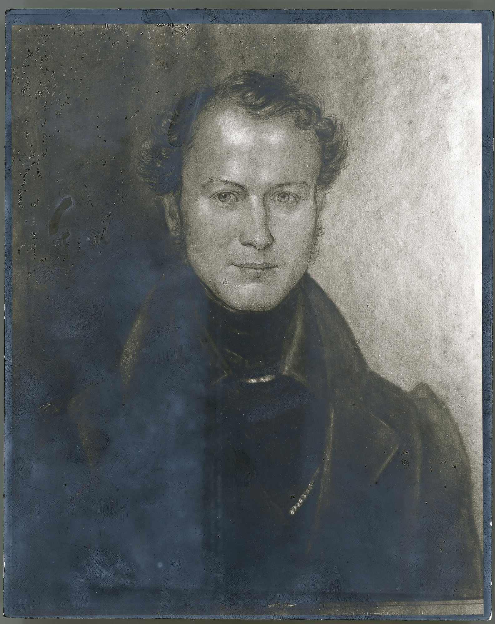 Portrait of William Duncan Brackenridge, a naturalist on the United States Exploring Expedition. Smithsonian Institution Archives, negative number 2005-1378.