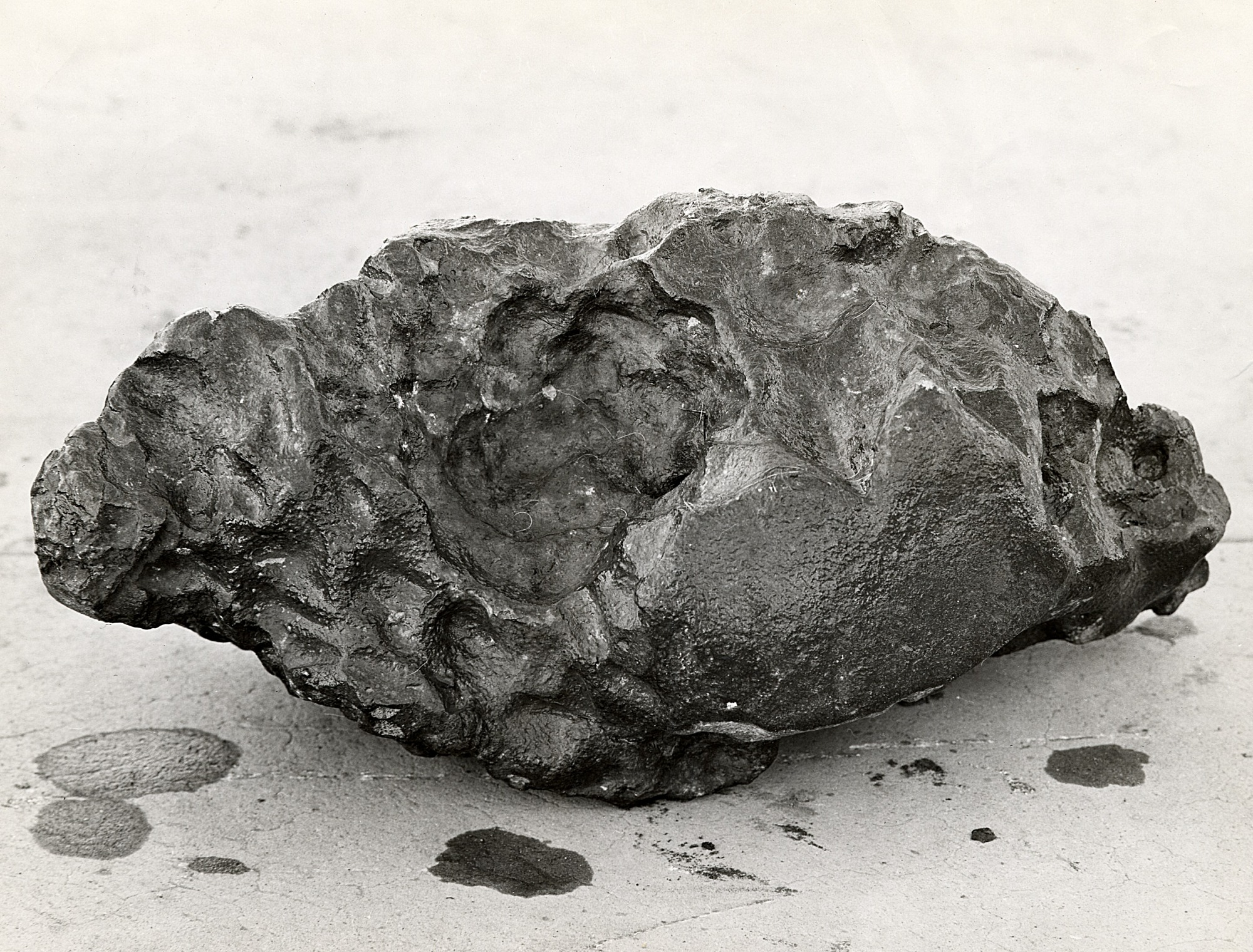 Loreto Meteorite, by Unknown, 1951, Smithsonian Archives - History Div, 2005-163.
