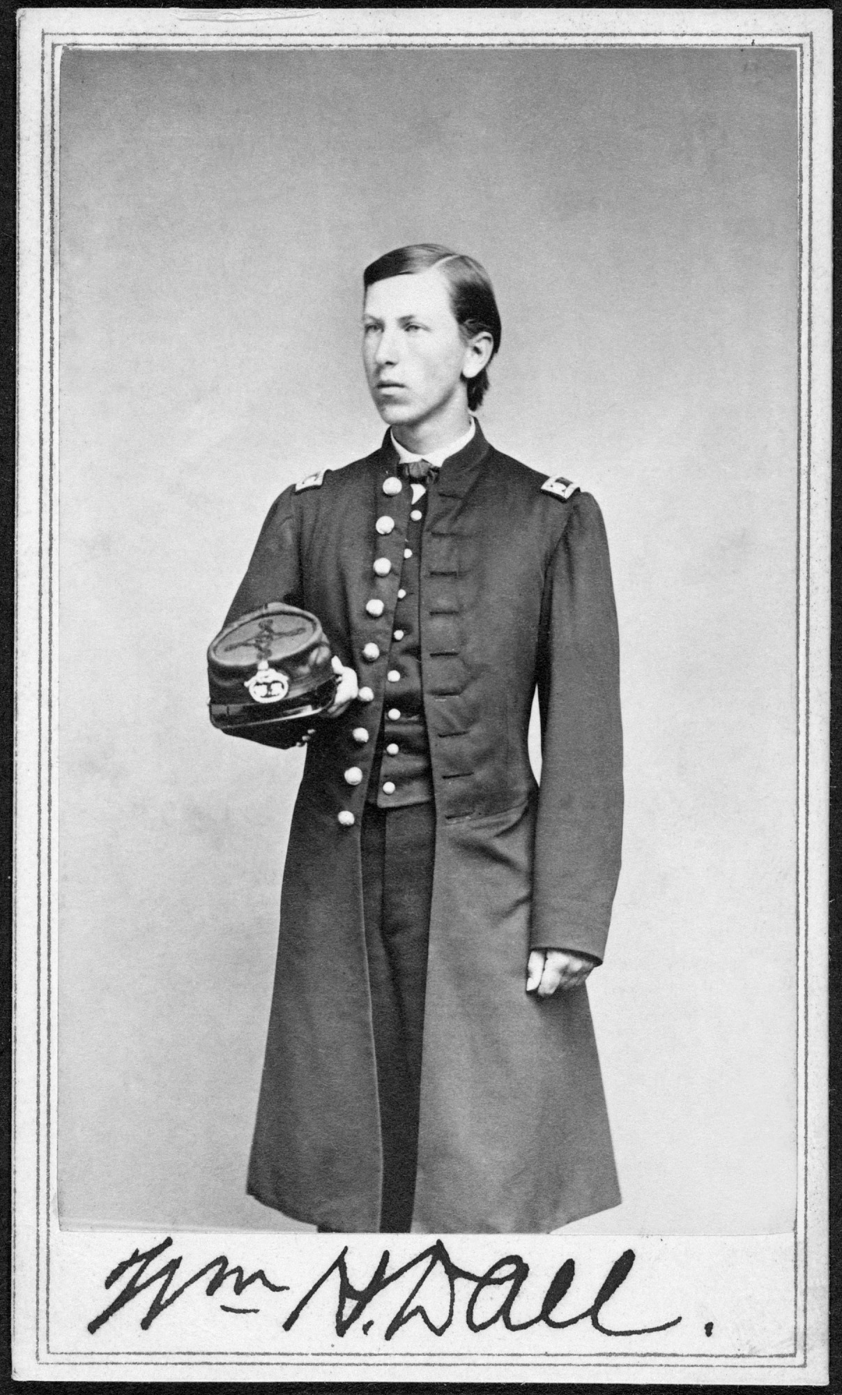 William Healey Dall Wearing his Expedition Uniform, by Unknown, July 9, 1865, Smithsonian Archives - History Div, SA-1156 or 2006-18833.
