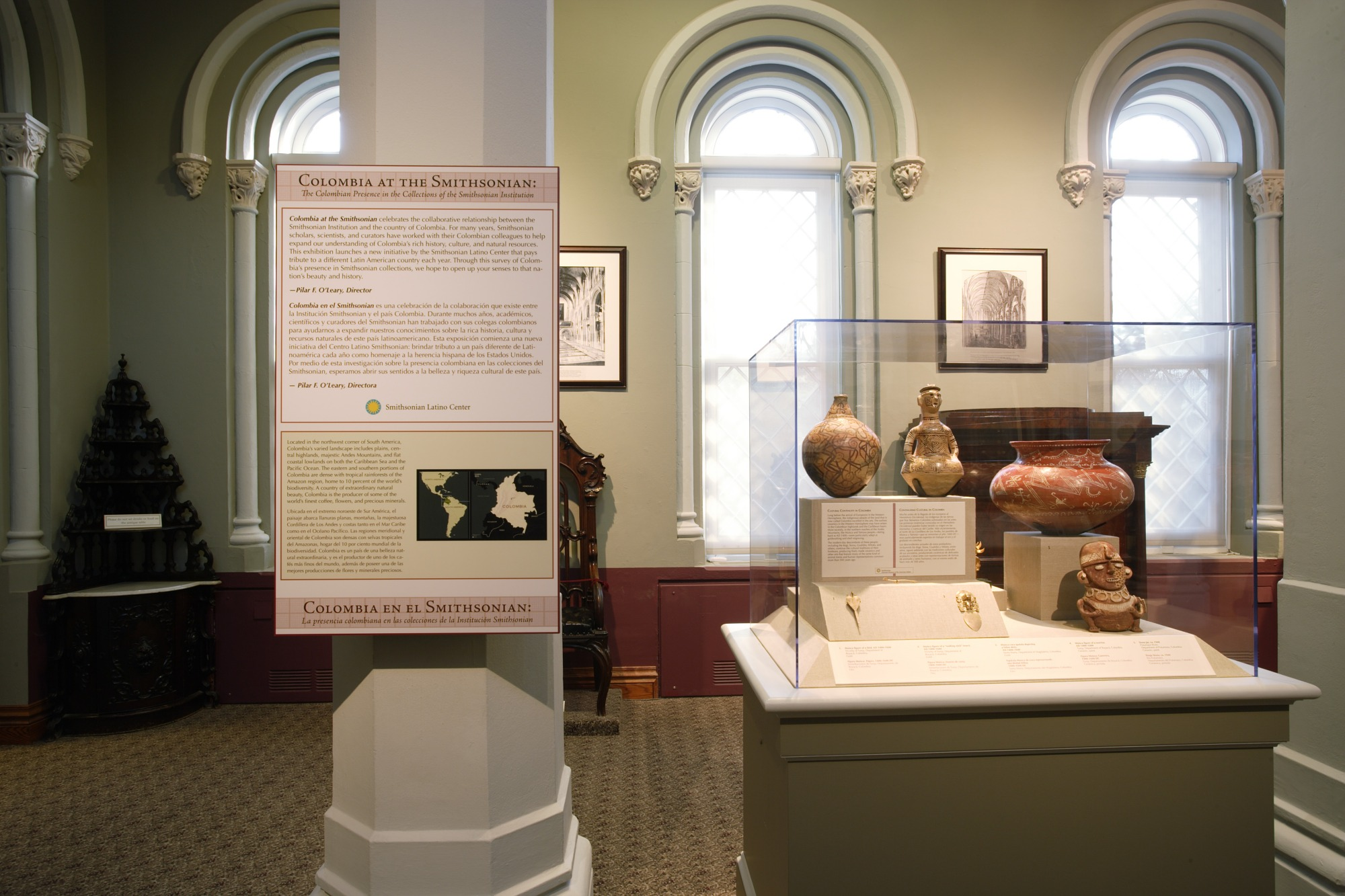 """Colombia at the Smithsonian"" Exhibit"