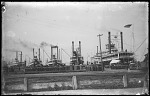 Steamboats Loading Cotton at a Dock