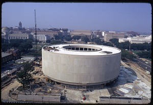 Image of Construction of Hirshhorn Museum and Sculpture Garden