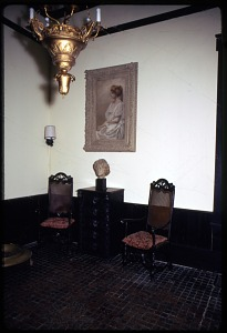 Image of Interior view of Alice Pike Barney Studio House