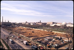 Image of Construction of National Air and Space Museum