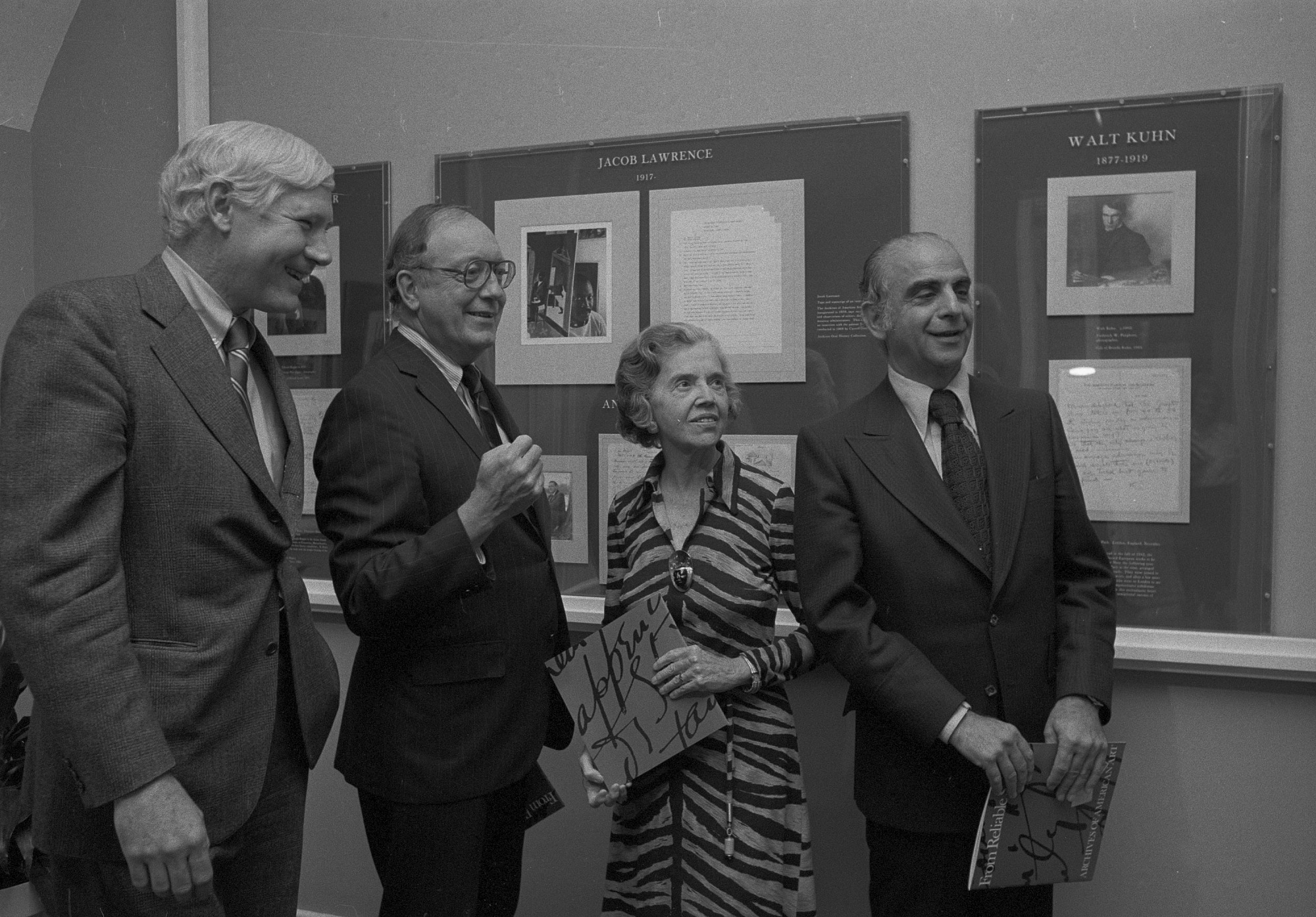 Archives of American Art Exhibit Opens