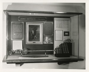 Image of James Smithson Crypt Exhibit After Renovation