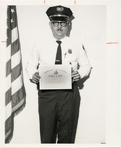 Image of Guard of the Month Pfc. James R. Joyner, Company D