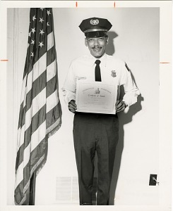 Image of Guard of the Month Pfc. Charles Ruffin, Company B