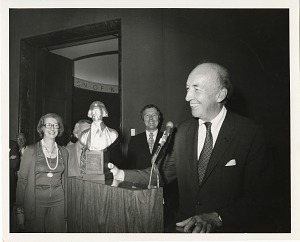 Image of Presentation of Thomas Jefferson Award Secretary S. Dillon Ripley