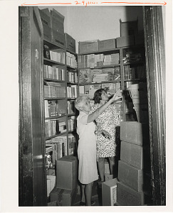 Image of Museum Shops Staff Member Florence Lloyd and Barbara Brand