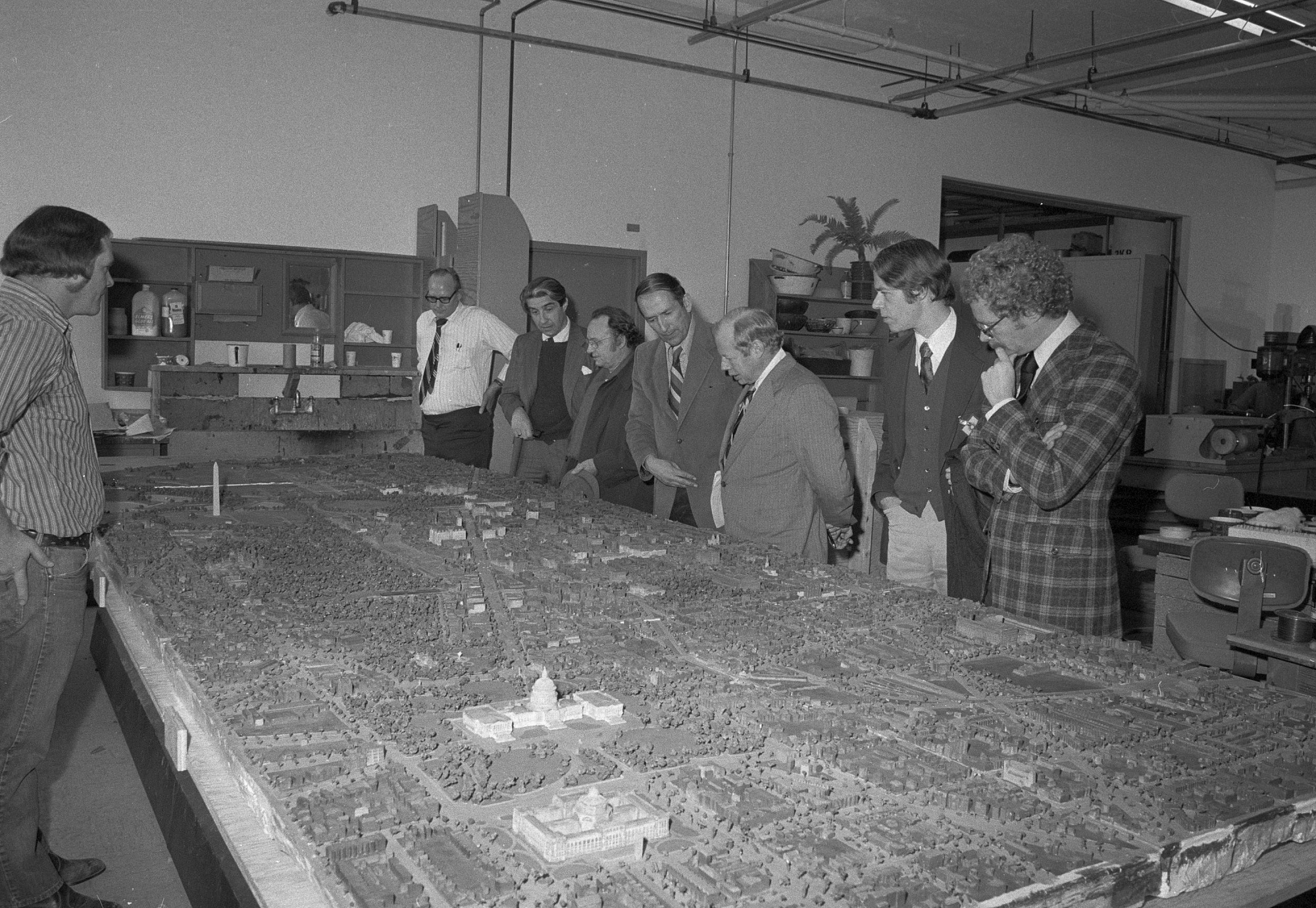 "Unveiling of ""The Federal City"" Model"