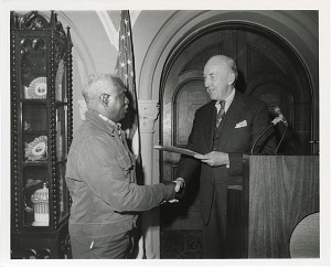 Image of William H. Green at Award Ceremony