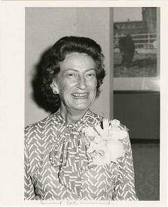 Image of Portrait of Estelle Beck at her Retirement Party