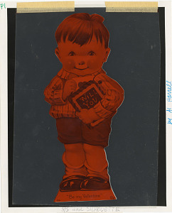 Image of Valentine's Day Card from NMHT Collection
