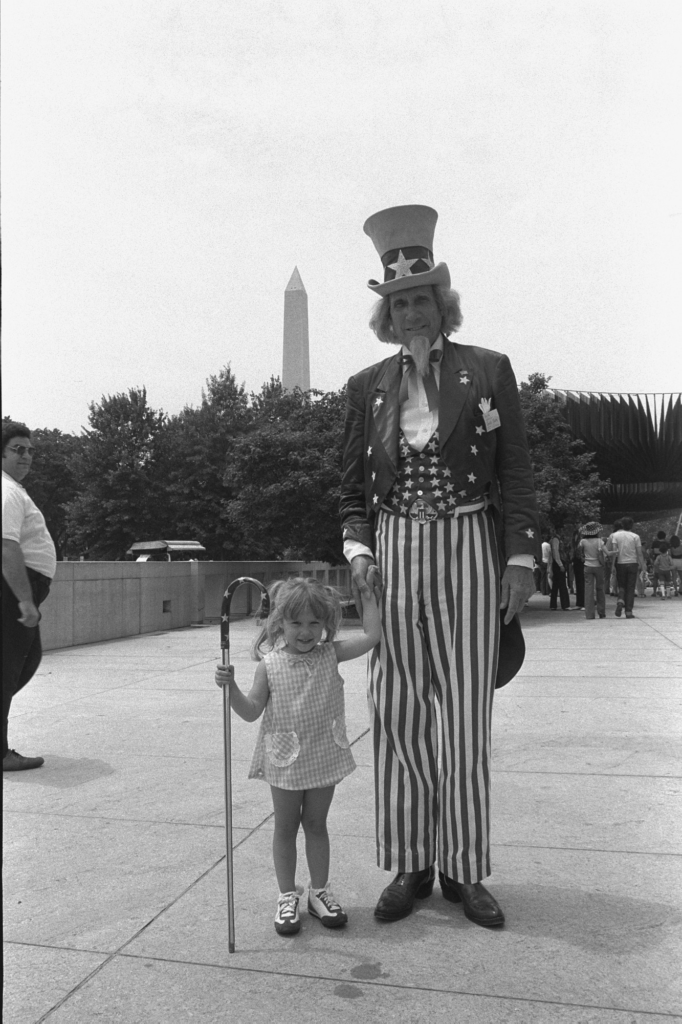 John Rusk as NMHT's Uncle Sam