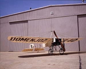 Image of Bleriot Airplane at Silver Hill