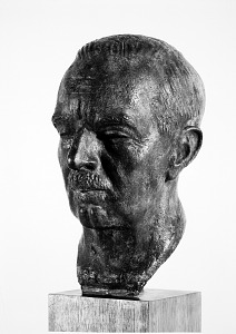 Image of Bronze Portrait Head of Secretary Carmichael
