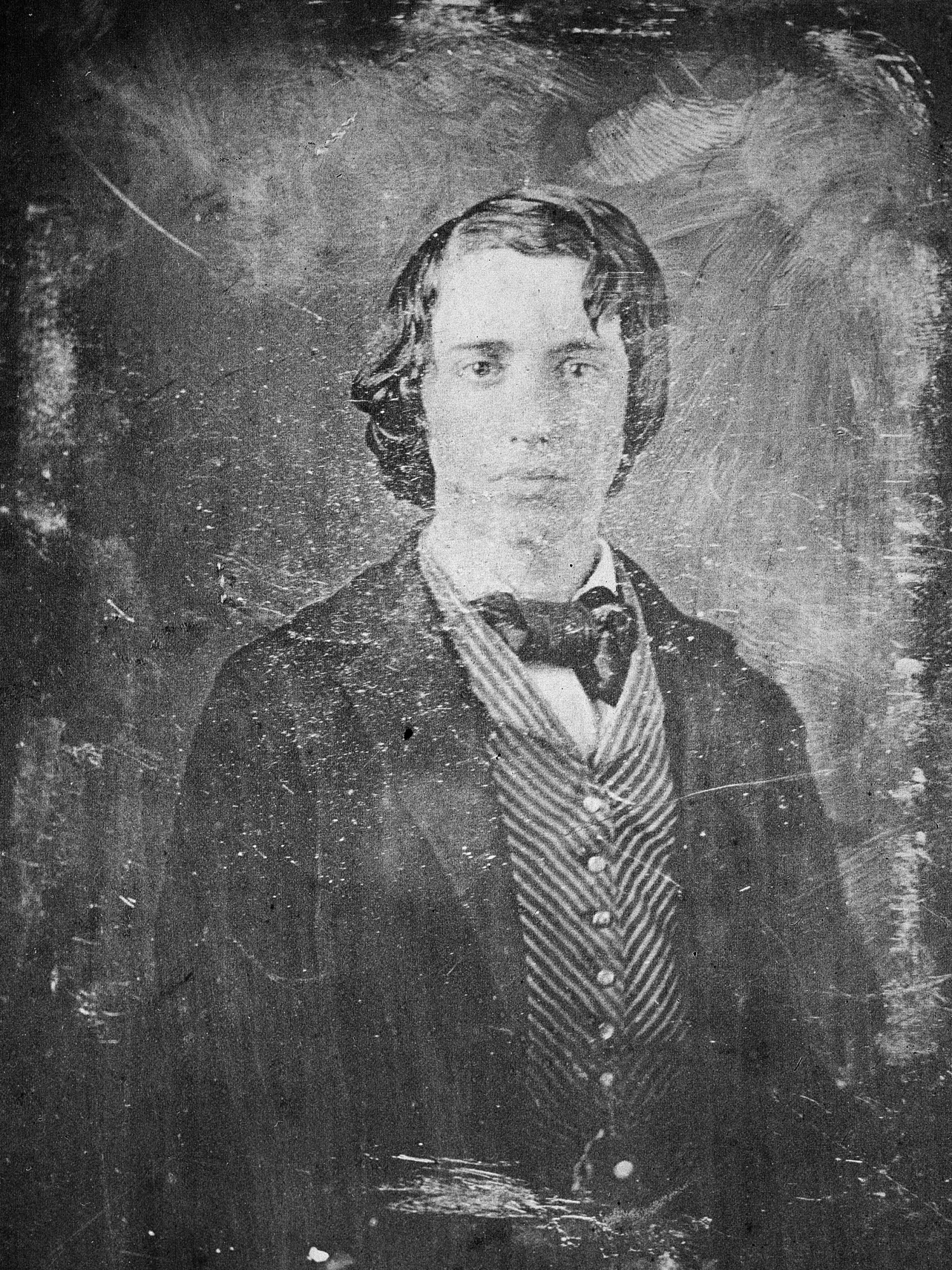 Image is thought to be William Alexander Henry, c. 1855, Smithsonian Institution Archives, negative number 82-3190.