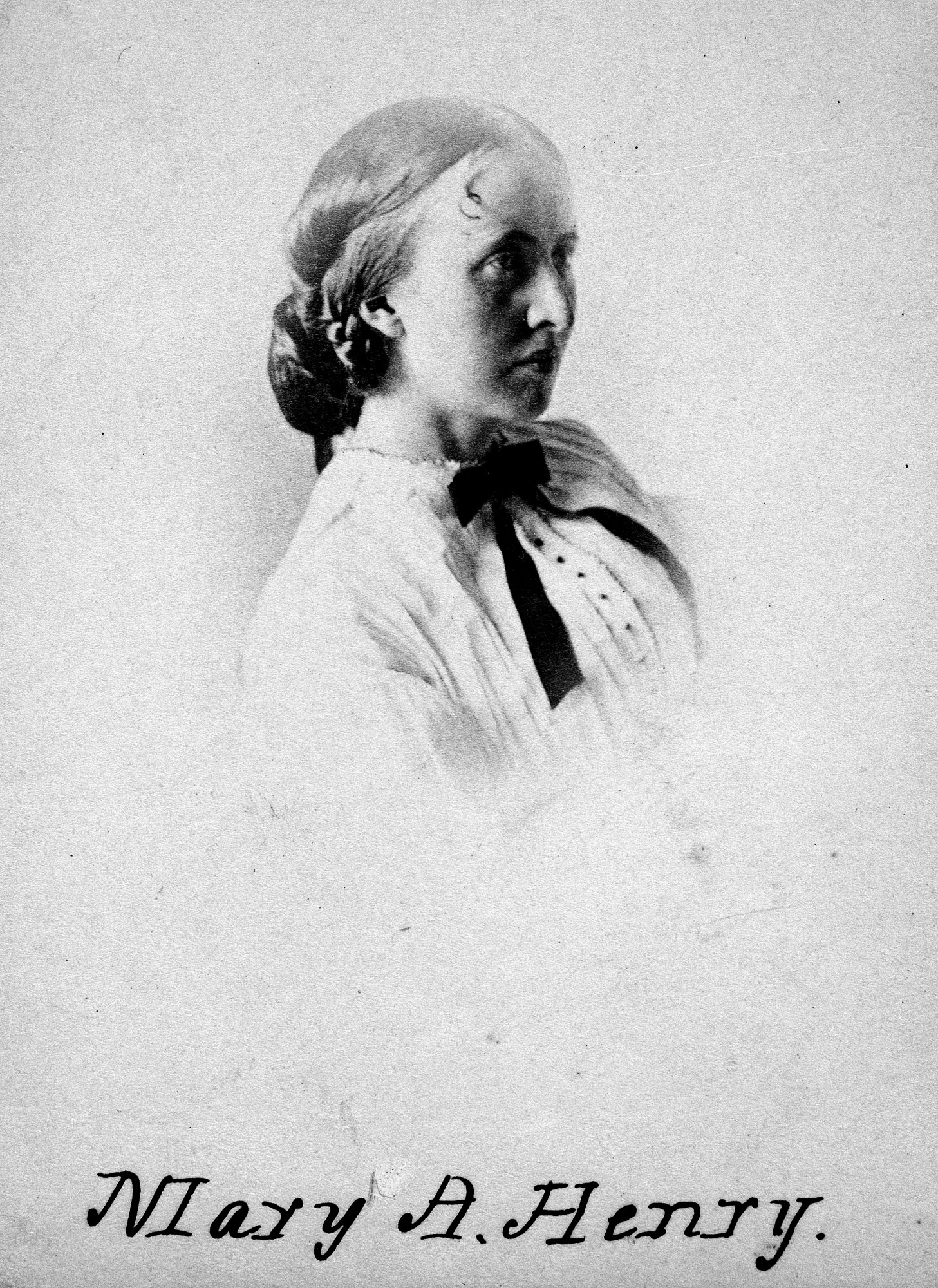 Mary Henry, Daughter of Secretary Henry