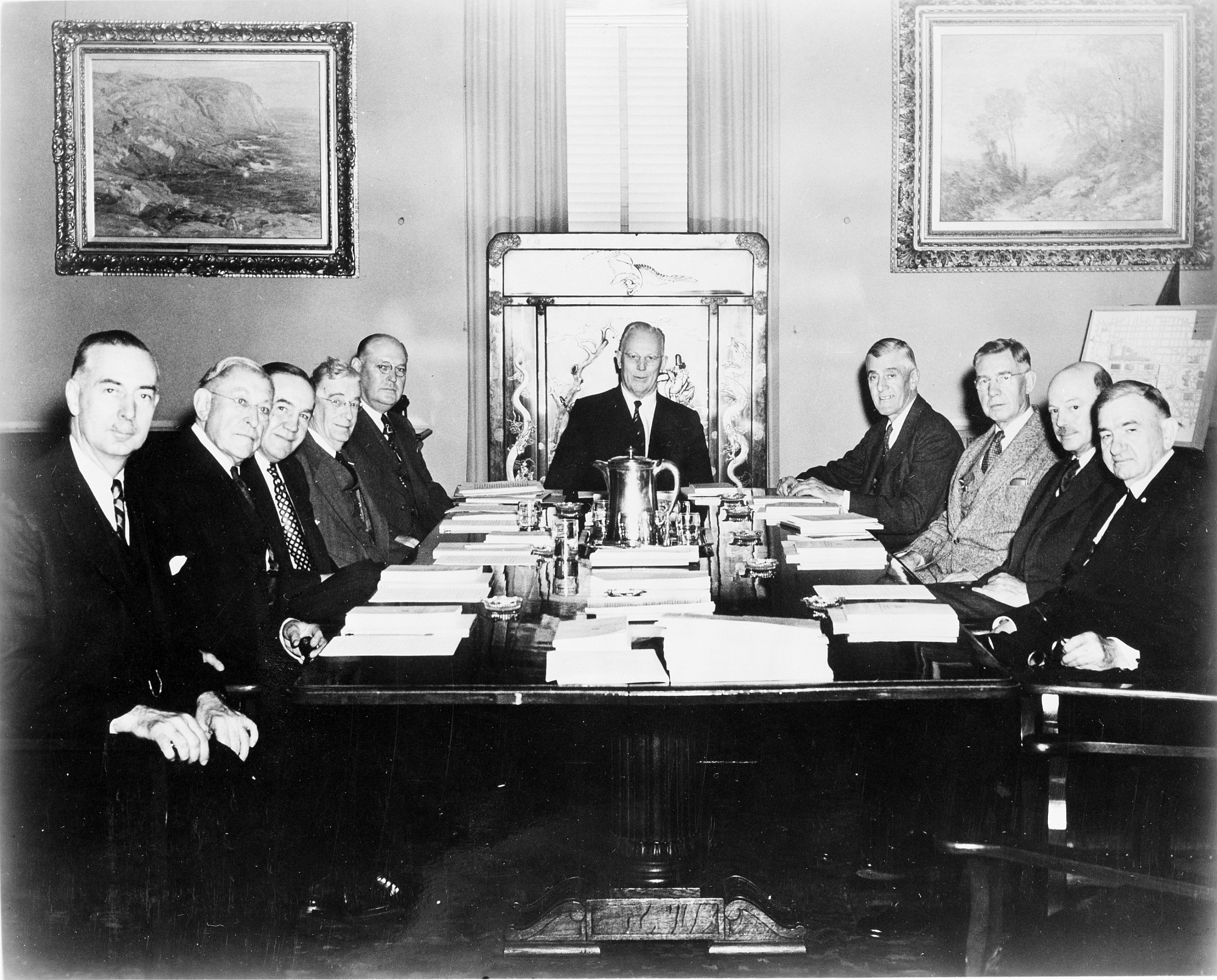 Regents Meeting, 1954