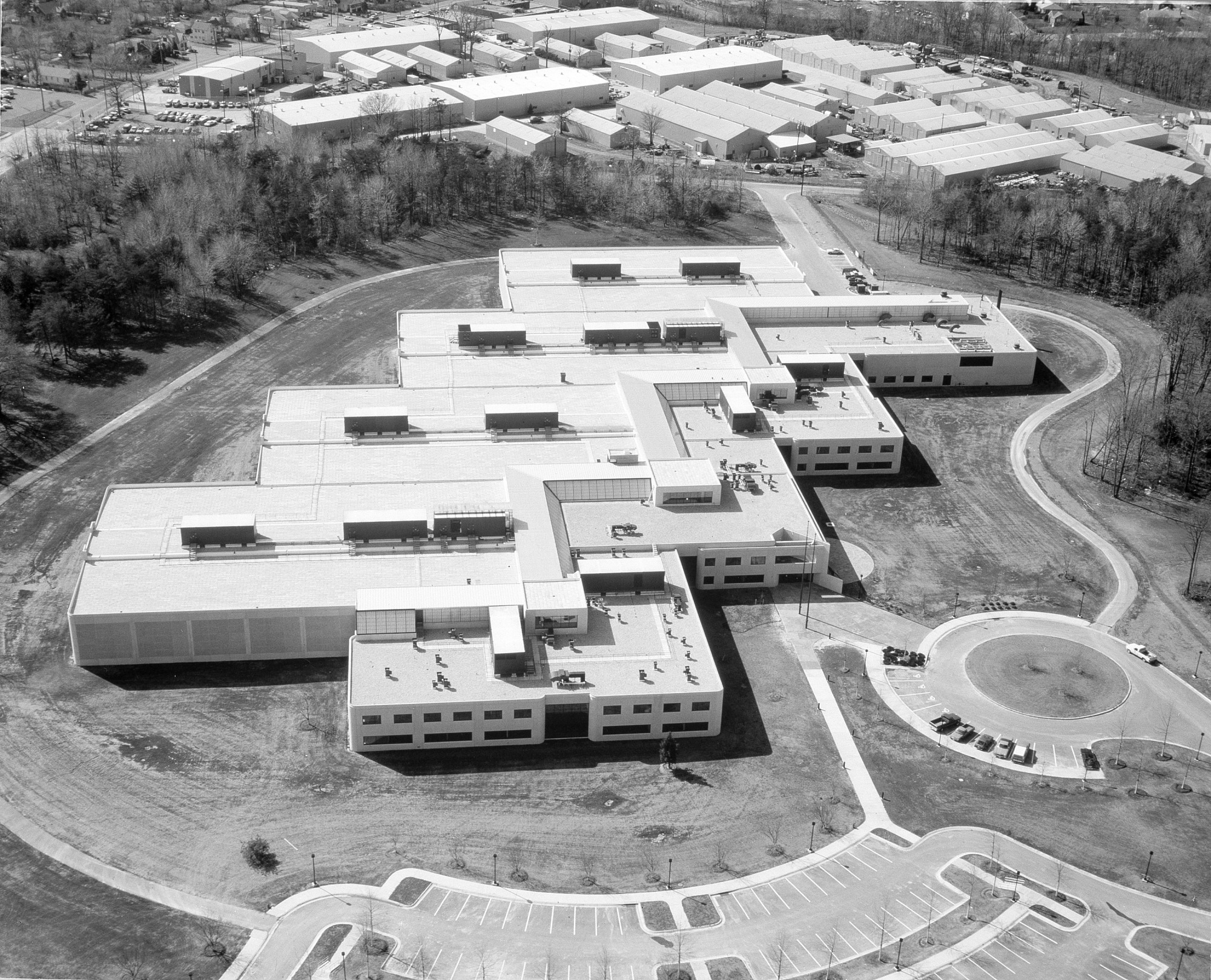 Aerial View of Museum Support Center, Suitland, MD
