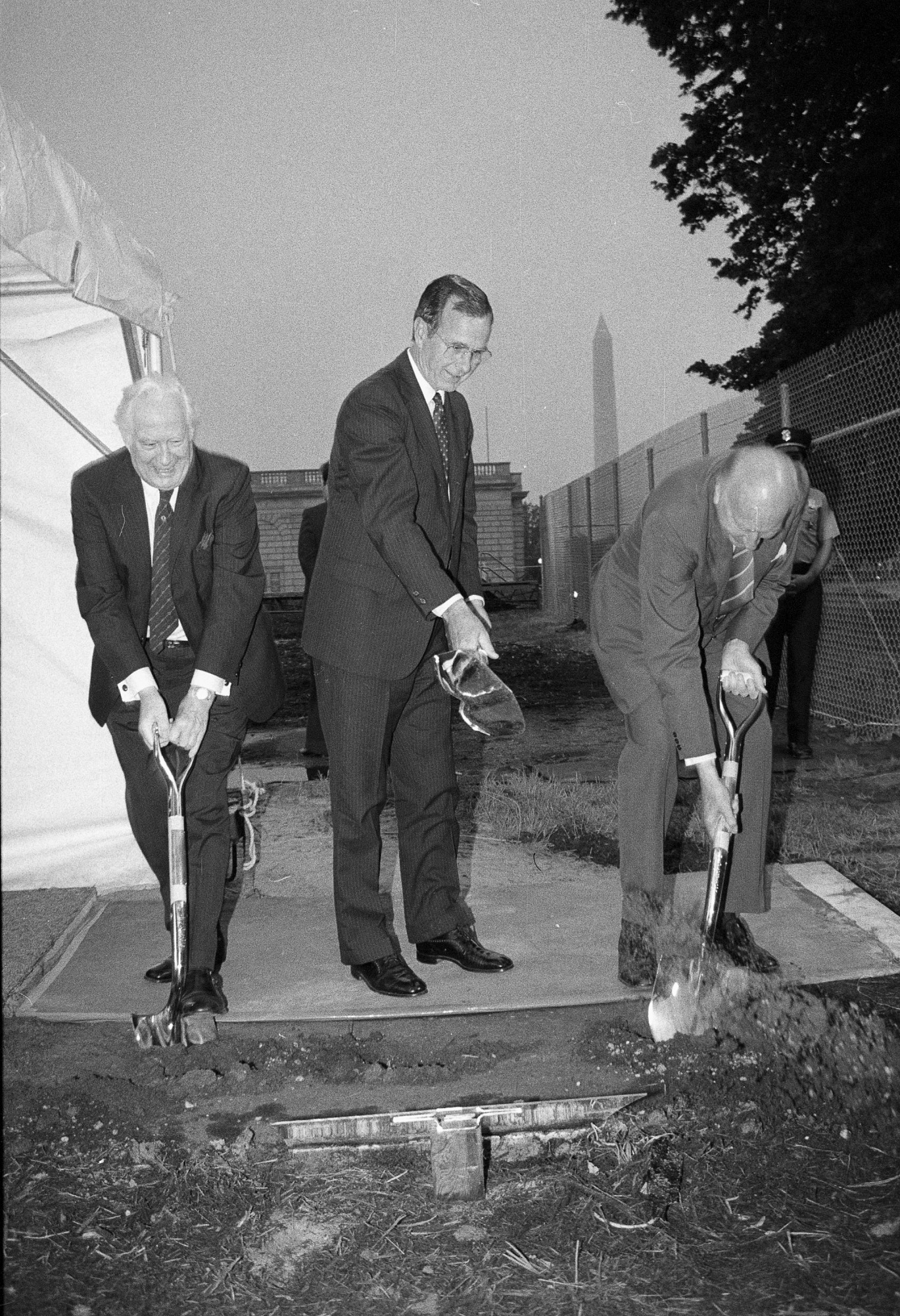 Groundbreaking for the Quadrangle