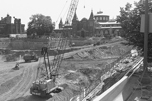 Image of Excavation for Quad Construction